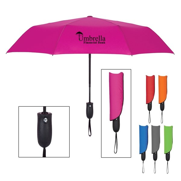 Promotional 42 Arc Telescopic Wave Umbrella