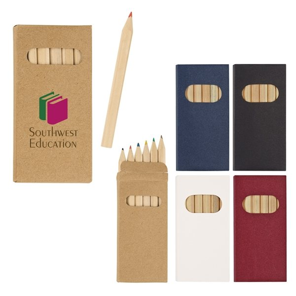 Promotional 6- Piece Colored Pencil Set