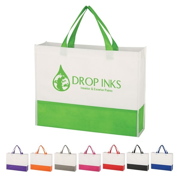 Promotional Non - Woven Prism Tote Bag