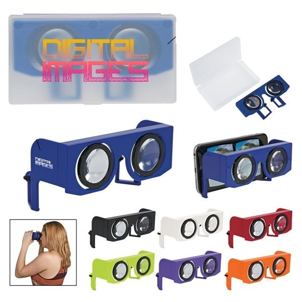 Promotional Folding Virtual Reality Goggles