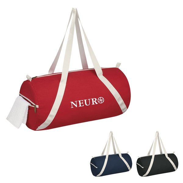 Promotional Lightweight Cotton Duffel Bag