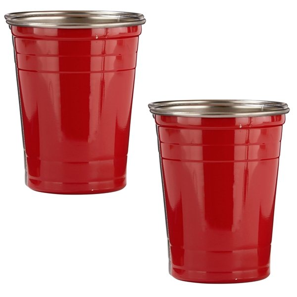 Promotional 16 oz Stainless Steel Party Cup