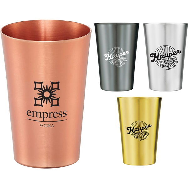 Promotional Copper 14 oz Metal Cup