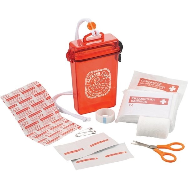 Promotional StaySafe Waterproof First Aid Kit
