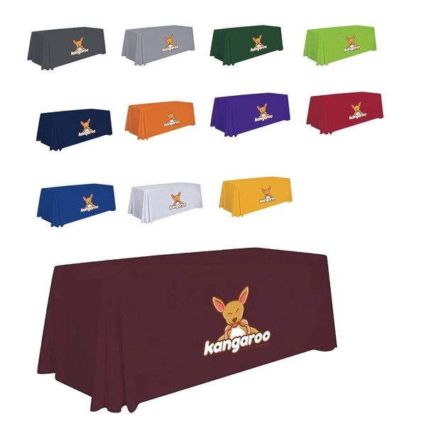 Promotional 6 Standard Table Throw (Full - Color Imprint)