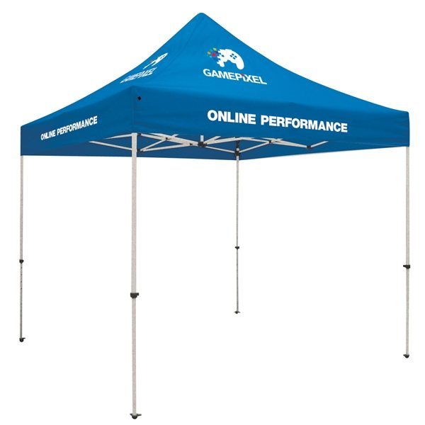 Promotional 10 Standard Tent Kit - 4 Location - Thermal Print