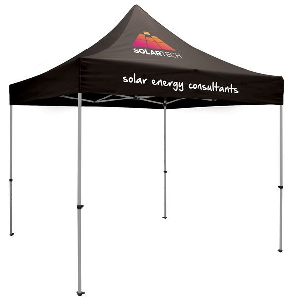 Promotional 10 Premium Tent Kit - 3 Location - Thermal Print