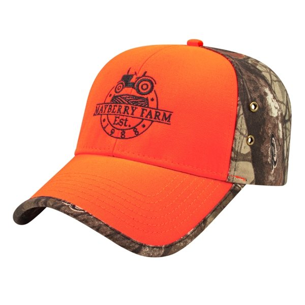 Promotional Solid Front Next G2(TM) Camo Back Cap