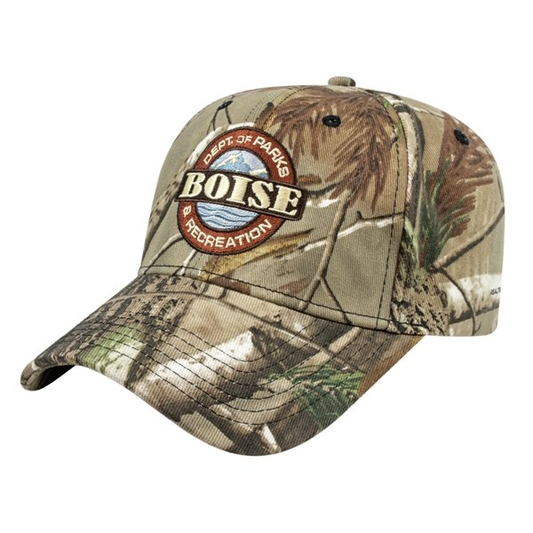 Promotional Stretch - Fit Camo Cap