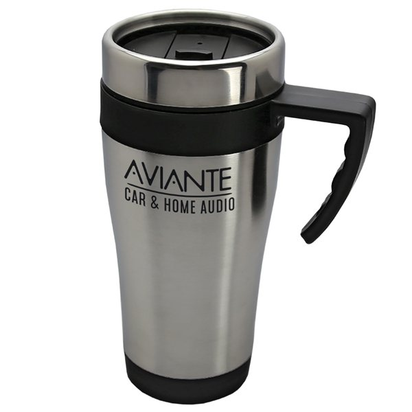 Promotional 14 oz Stainless Steel Auto Mug with PP Liner