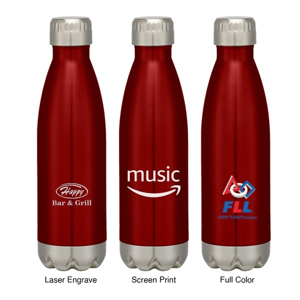 Promotional 17oz Stainless Steel Insulated Cola Bottle