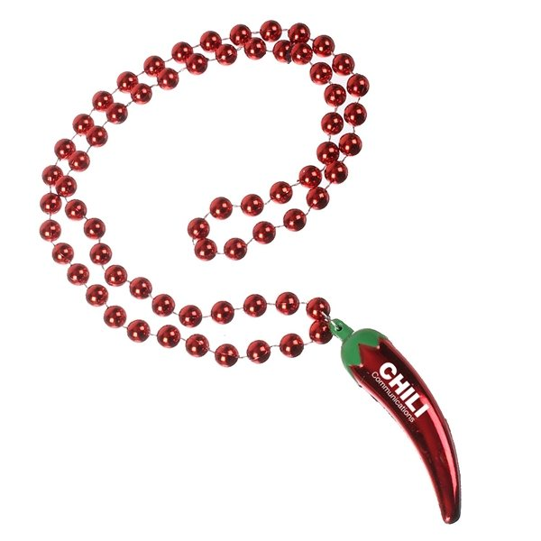 Promotional Chili Pepper Necklace