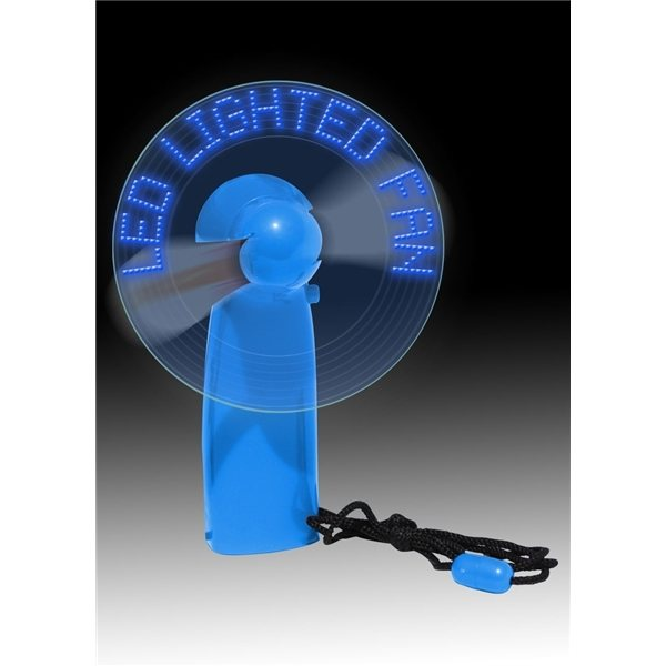 Promotional LED Lighted Message Fan