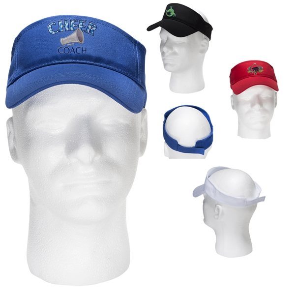 Promotional 100 Cotton Twill Budget Visor