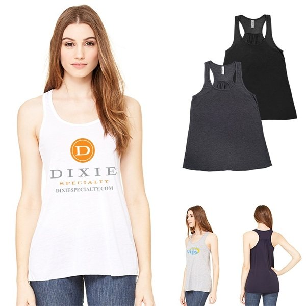 Promotional Bella+Canvas(R) WomenS Flowy Racerback Tank - 8800