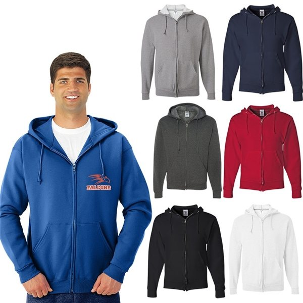 Promotional Jerzees(R) Nublend(R) Full - Zip Hooded Sweatshirt