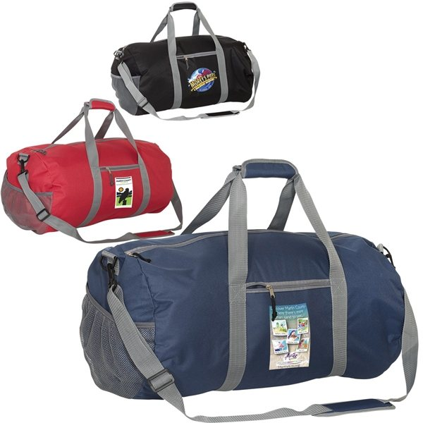Promotional 600D Polyester Budget Duffel