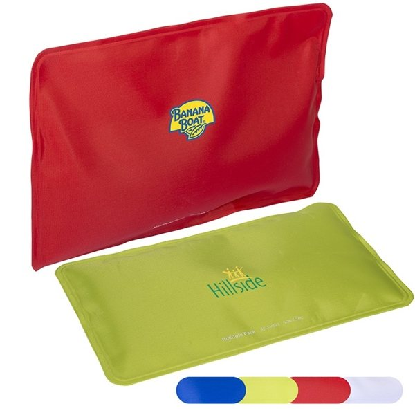 Promotional Nylon Covered Gel Hot / Cold Pack