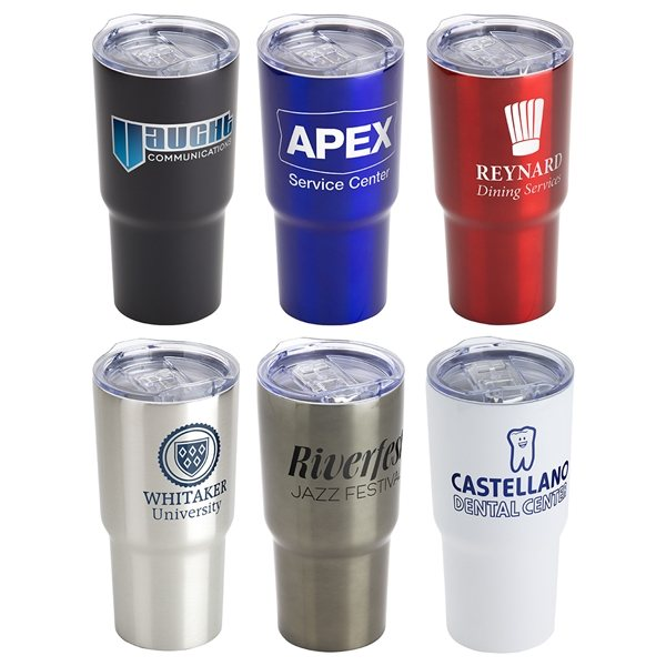 Promotional Belmont 20 oz Vacuum Insulated Stainless Steel Travel Tumbler