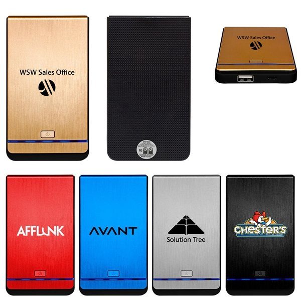 Promotional UL Textured Power Bank
