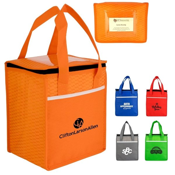 Promotional Rectangle Wave Lunch Tote