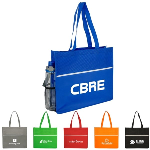 Promotional Polypropylene Wave Shopping Tote