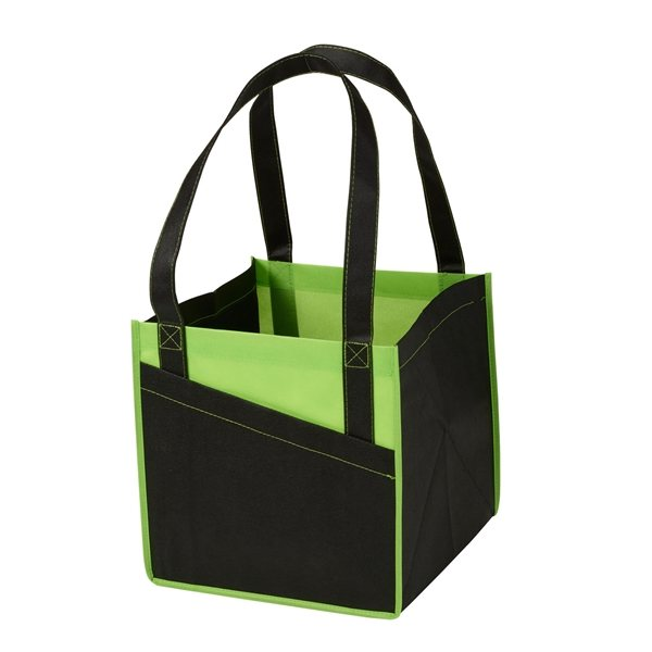 Promotional Cube Non - Woven Utility Tote