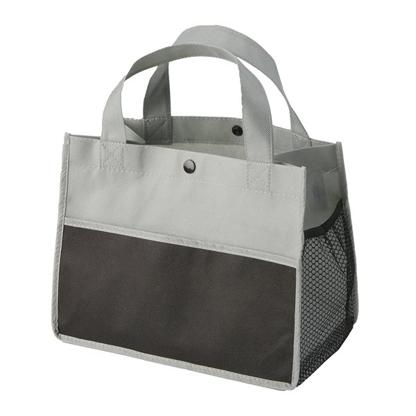 Promotional Mini Snap Non - Woven Lunch Tote