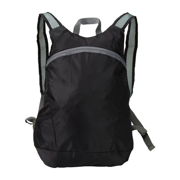 Promotional Ripstop StowN Go(TM) Backpack