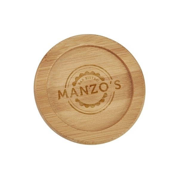 Promotional Bamboo Coaster