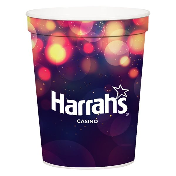 Promotional 16 oz Full Color Stadium Cup