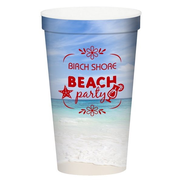 Promotional 22 oz Full Color Stadium Cup