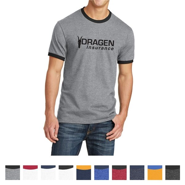 Promotional Port Company(R) Core Cotton Ringer Tee
