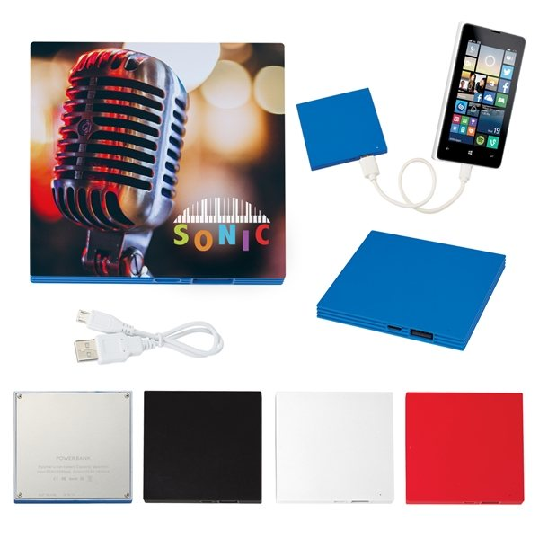 Promotional UL Listed Tile Shape Power Bank