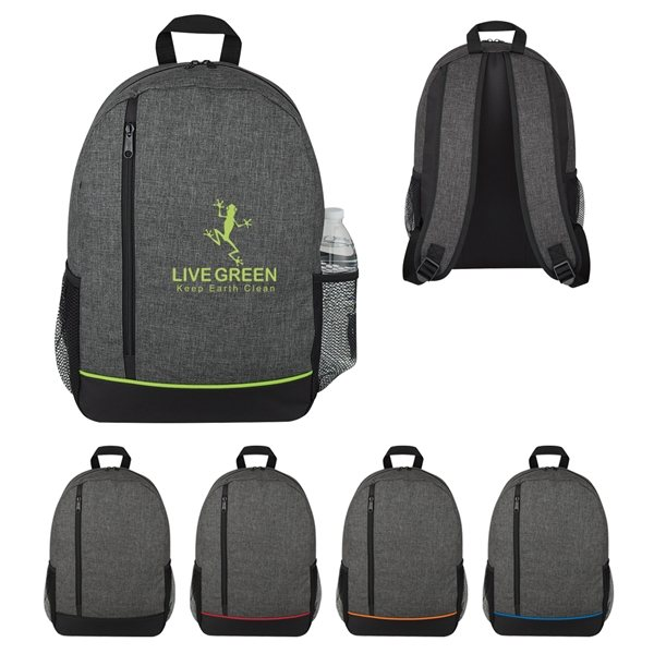 Promotional Polycanvas Rambler Backpack