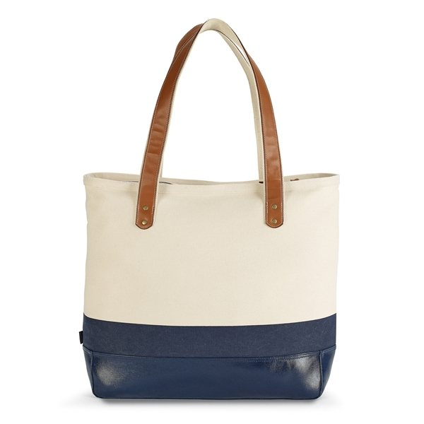 d874fedacf Kinsley Cotton Tote - Navy Blue - Promotional Tote Bags