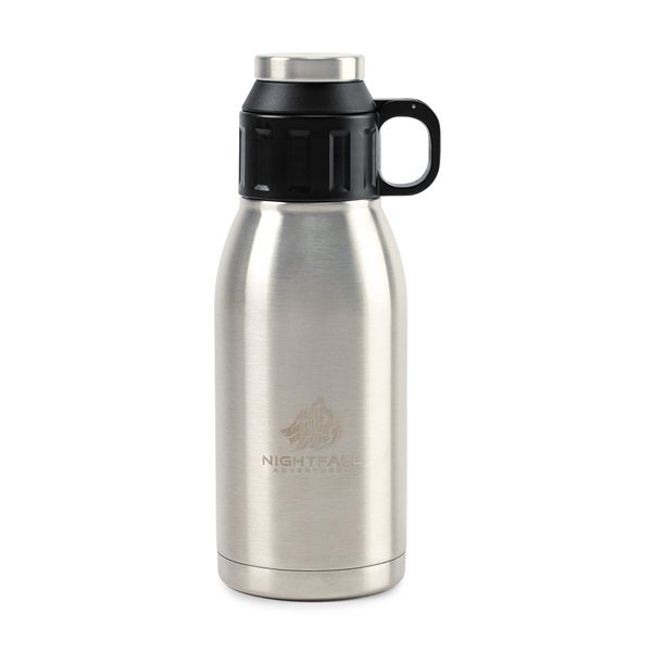 Promotional Aviana(TM) Trek Double Wall Stainless Canteen - 32 oz