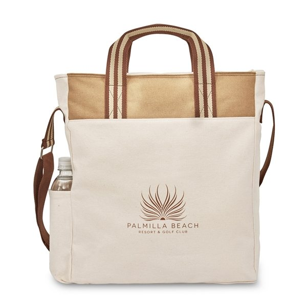 Promotional Charlie Cotton Tote - Dune