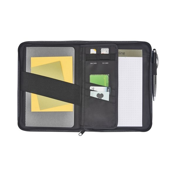 Promotional Cedar Junior Padfolio - Black