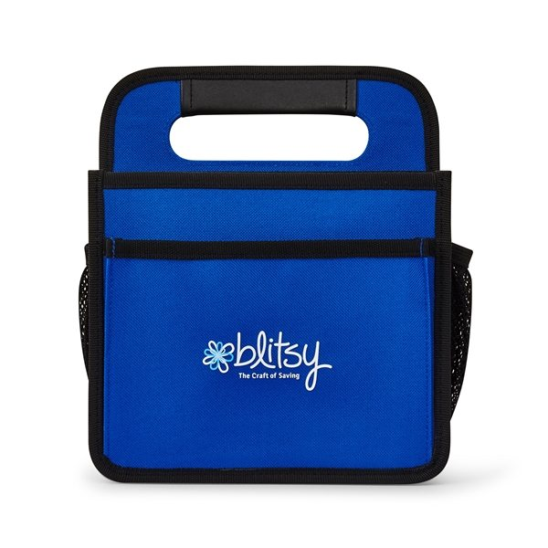 Promotional Everyday Carry Caddy - Royal Blue / Black