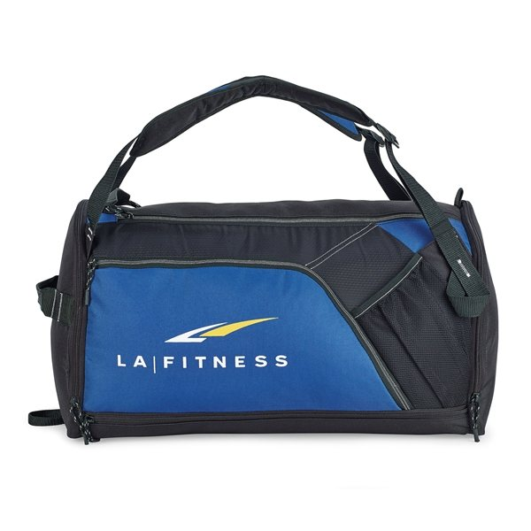 Promotional Billboard Convertible Sport Bag - Royal Blue