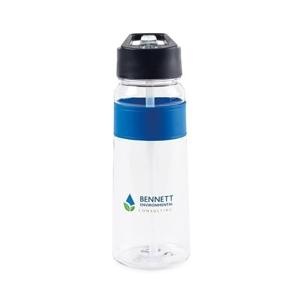Promotional Calypso Tritan Hydration Bottle - 25 oz - Royal Blue