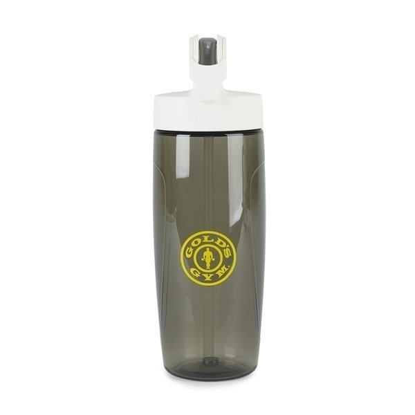Promotional Thermos(R) Sport Bottle with Covered Straw - 24 oz - Smoke