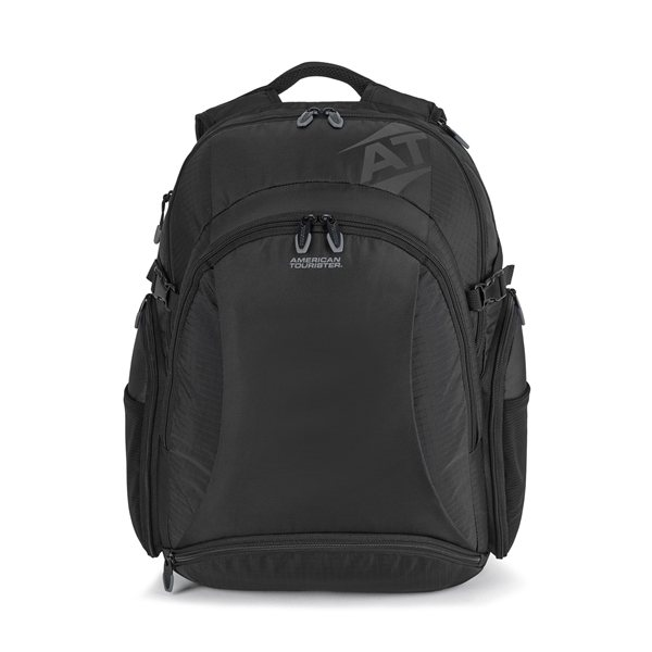 Promotional American Tourister Voyager Deluxe Computer Backpack - Black