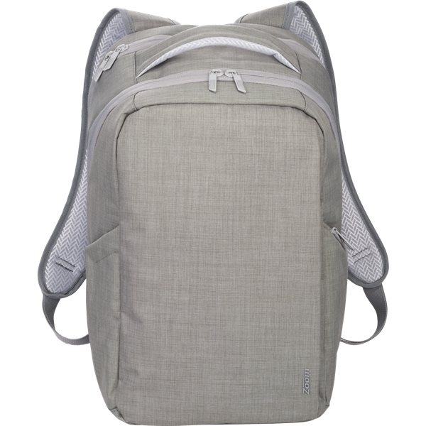 Promotional Zoom(R) Grid 15 TSA Computer Backpack