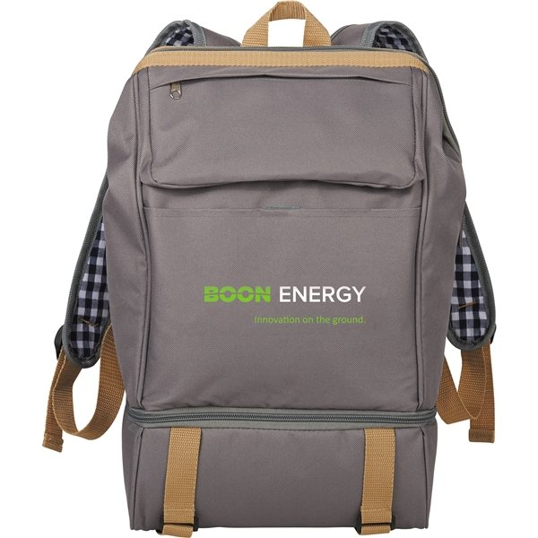 Promotional Caf Picnic Backpack for Two