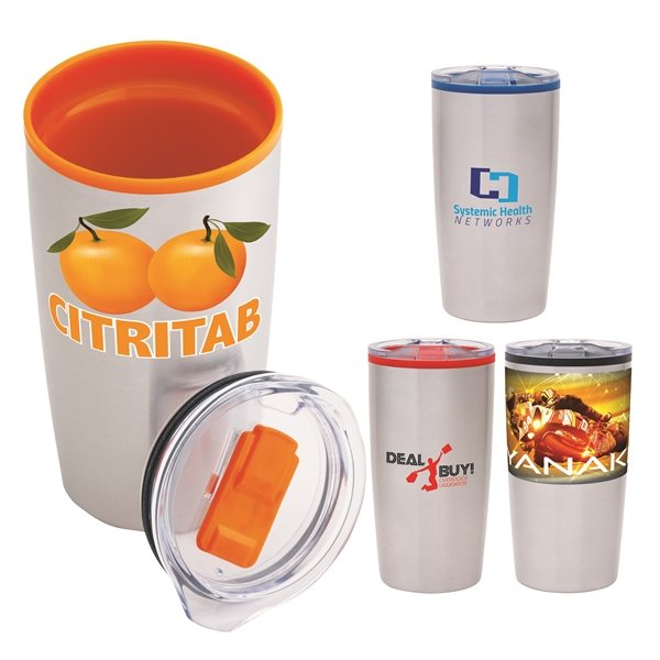 Promotional Outback 20 oz Stainless Steel / PP Liner Tumbler