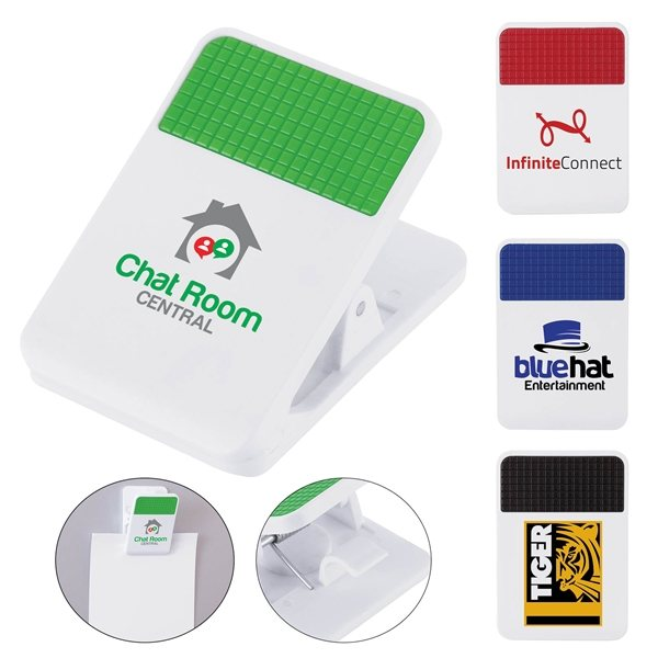 Promotional Clipa I Fridge Memo / Chip Clip