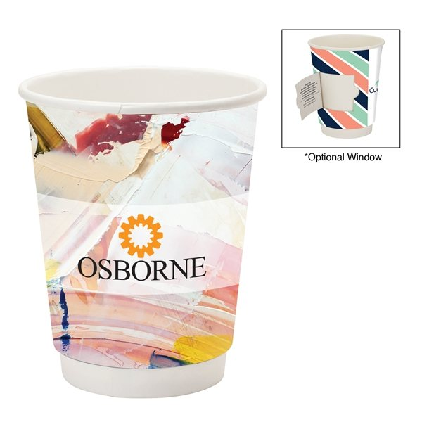 Promotional Prka(R) 12 oz Double Wall Paper Coffee Cup