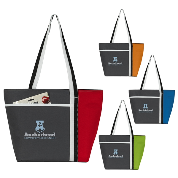 Promotional Calling All Stripes Cooler Tote